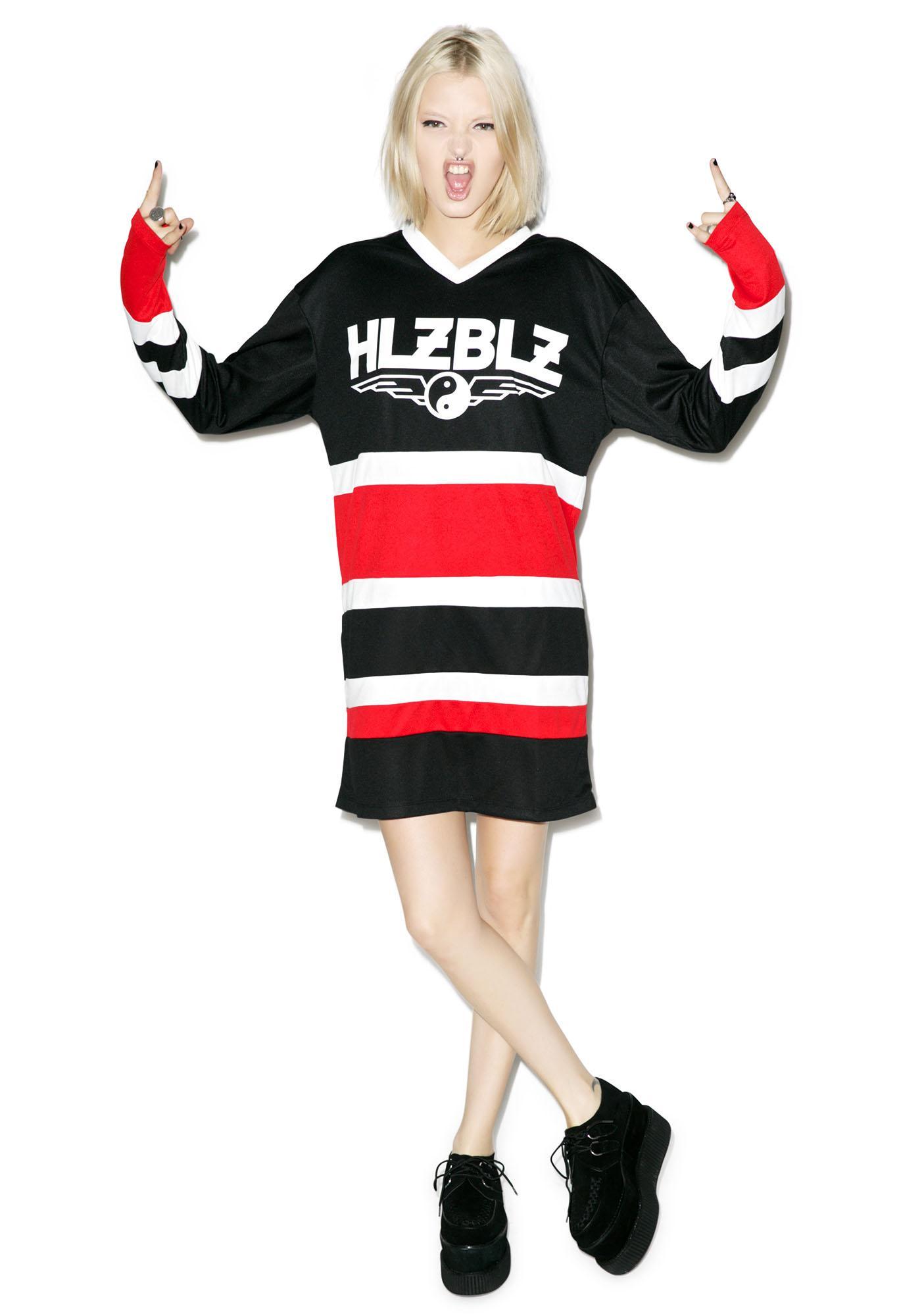 HLZBLZ Puck You Hockey Jersey