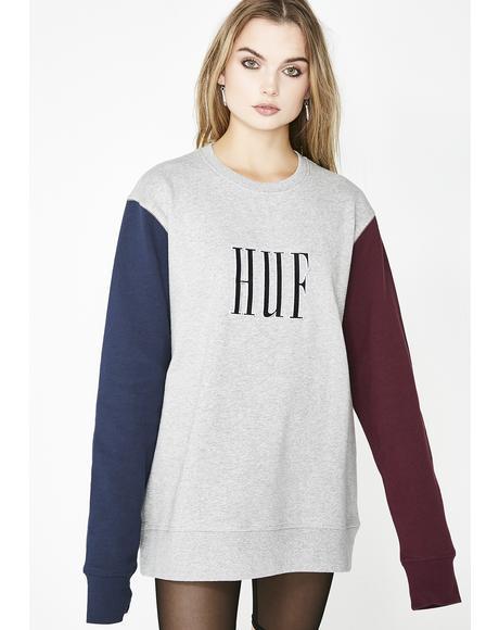 Crevasse Crewneck Sweatshirt