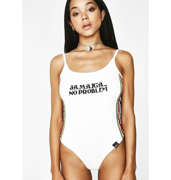 O Mighty Jamaica My Problem Bodysuit