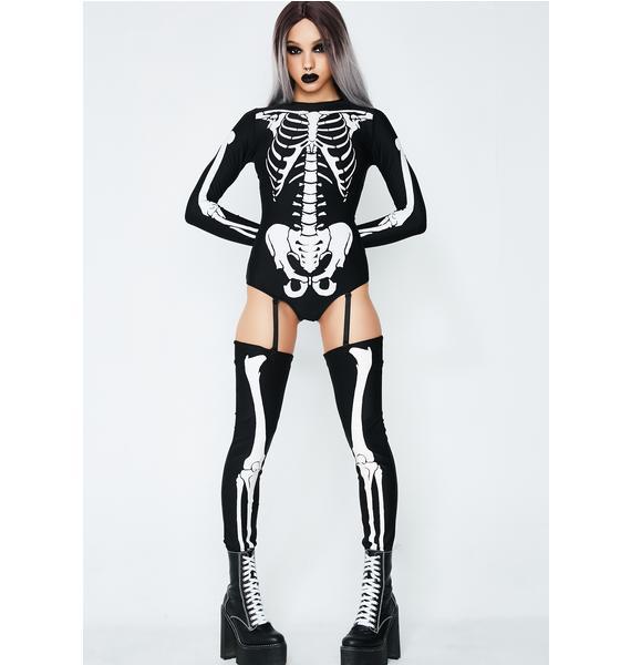 Bad To The Bone Skeleton Costume