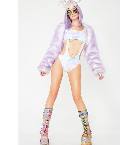 Ivy Berlin Ginger Snap Pastel Bodysuit
