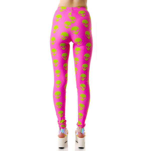 Abduct Me Now Leggings