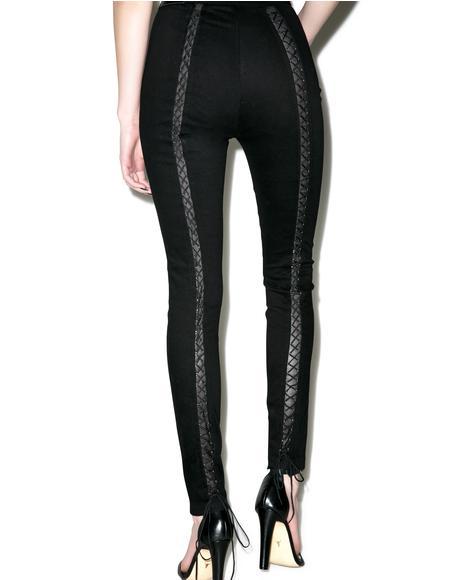 Batcave Stretch Skinny Jeans
