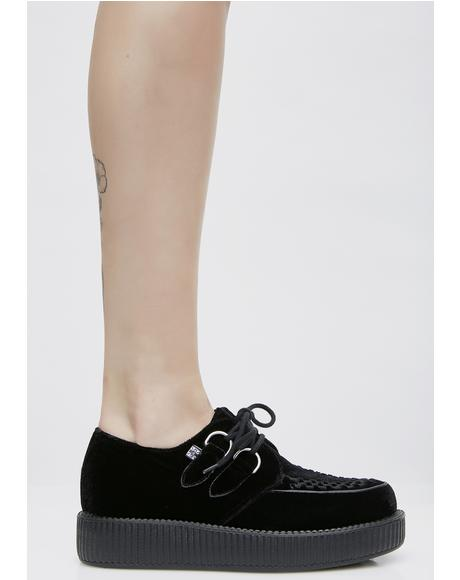 Velvet Viva Low Creepers
