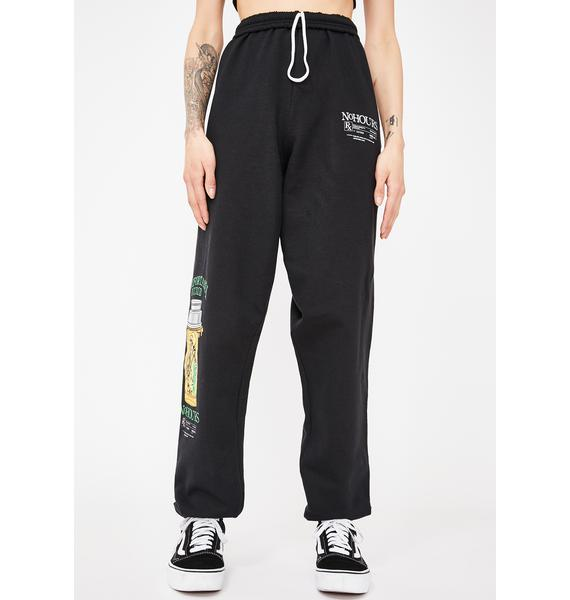 No Hours Numb Graphic Sweatpants