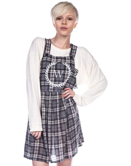 Reality Bites Maiden Pinafore Dress