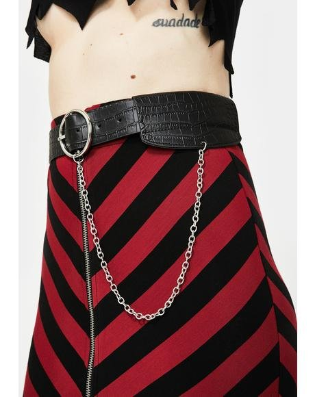 Deathly Diva Pouch Belt