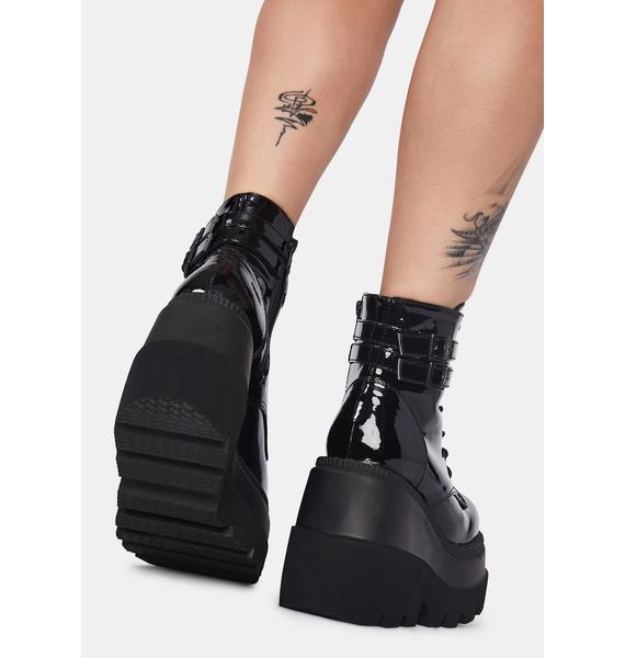 Demonia Slick Technopagan Boots