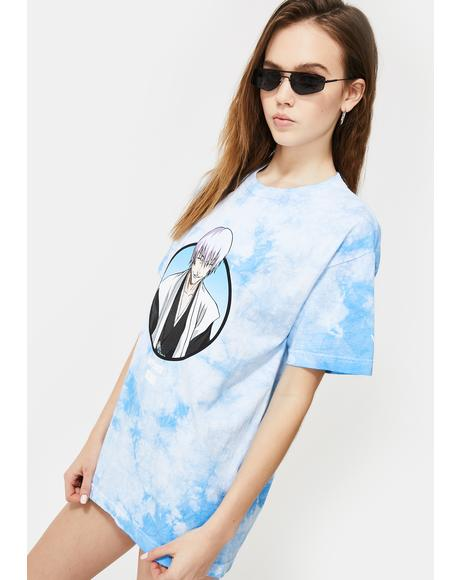 X Bleach Gin Tie Dye Graphic Tee