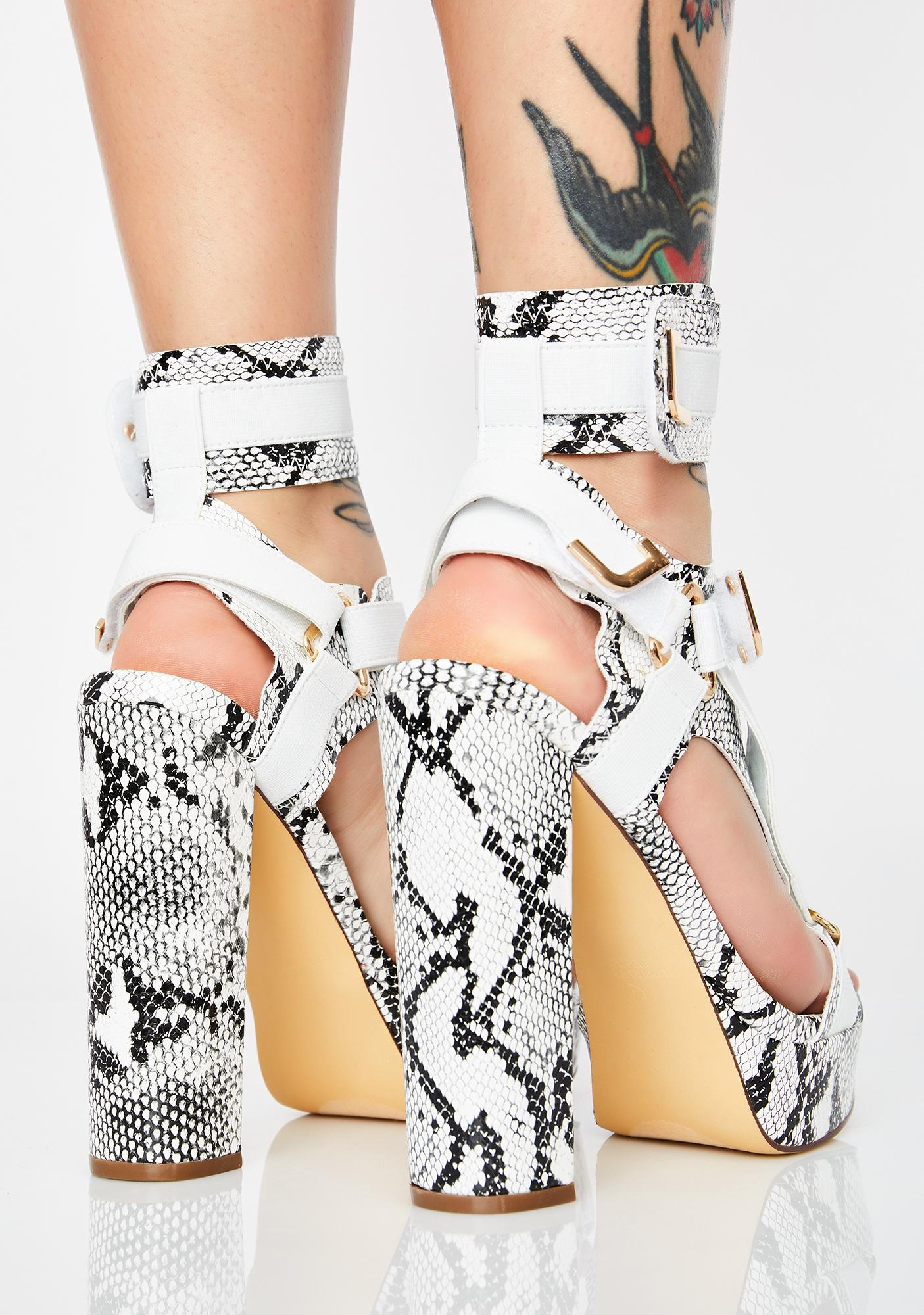 Vile Ready For Takeoff Strappy Heels