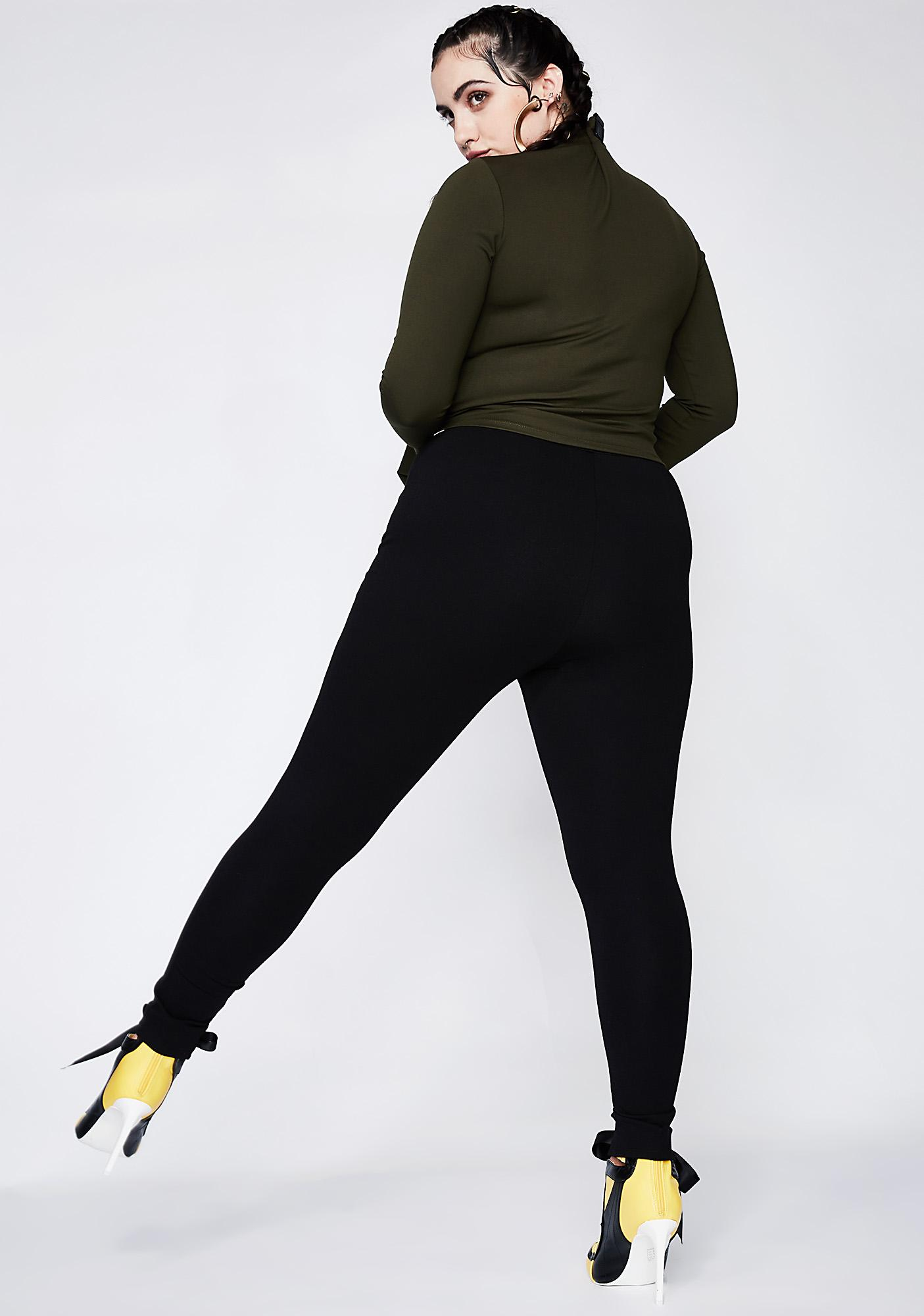 Poster Grl Bad Reputation Lace-Up Leggings