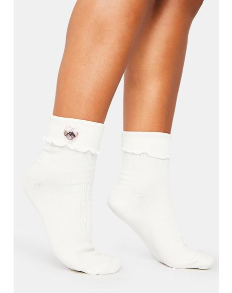 Pictures Of You Ankle Socks