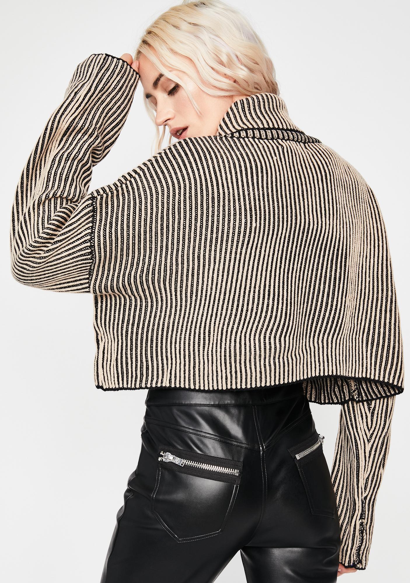 New Mint Velvet Ivory /& Ink Stripe Zip Monochrome Piped Top Shirt Blouse Tee £79