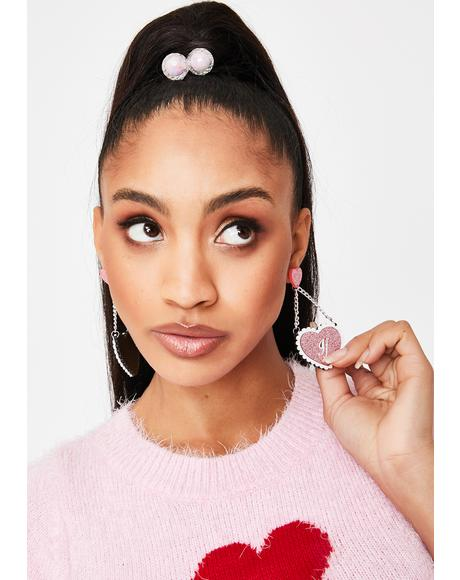 Like As If Heart Earrings