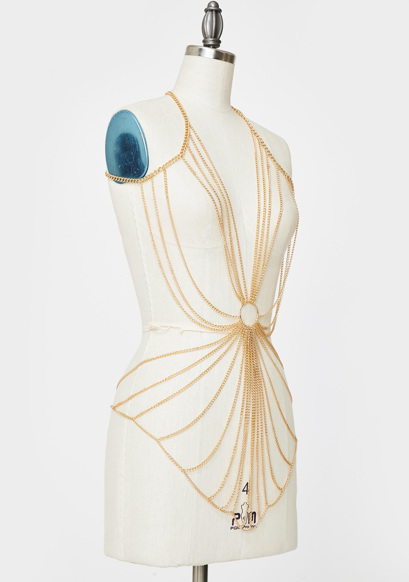 Gilded Endeavor O-Ring Body Chain