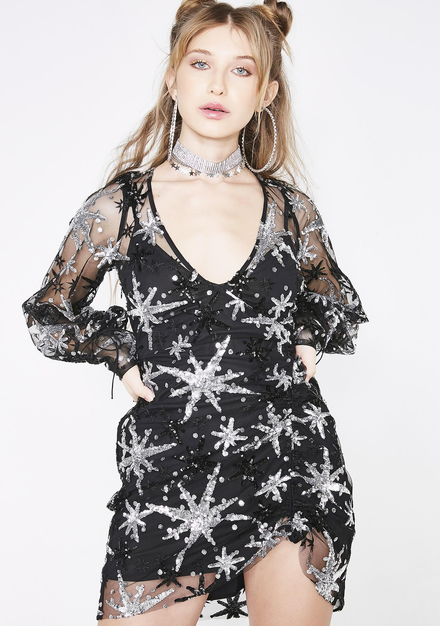 904daabbfbfc For Love & Lemons Stardust Mini Dress | Dolls Kill