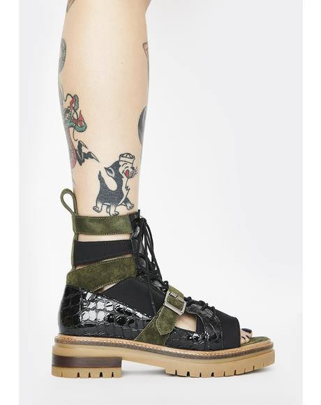 Mandi Boot Sandals