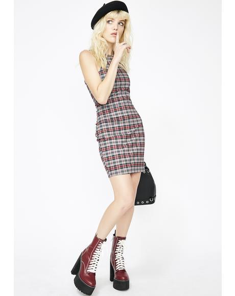 The New Girl Plaid Dress