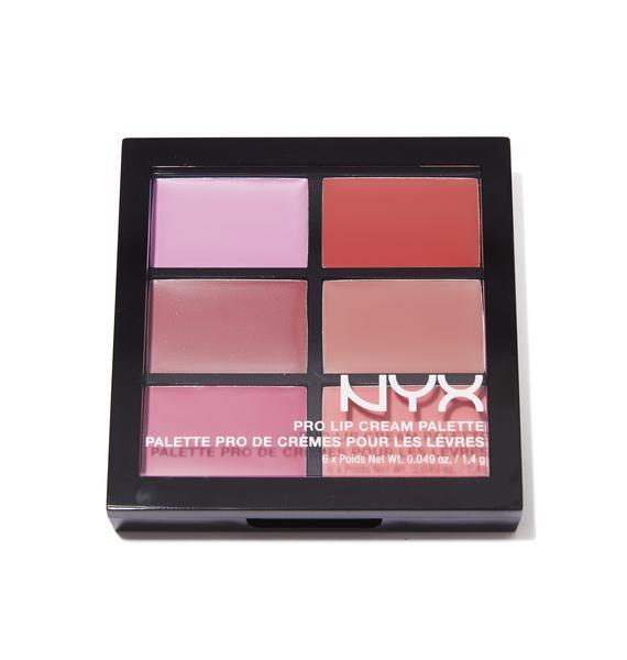 NYX The Pinks Pro Lip Cream Palette