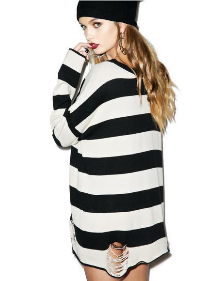 Urban Decay Striped Sweater
