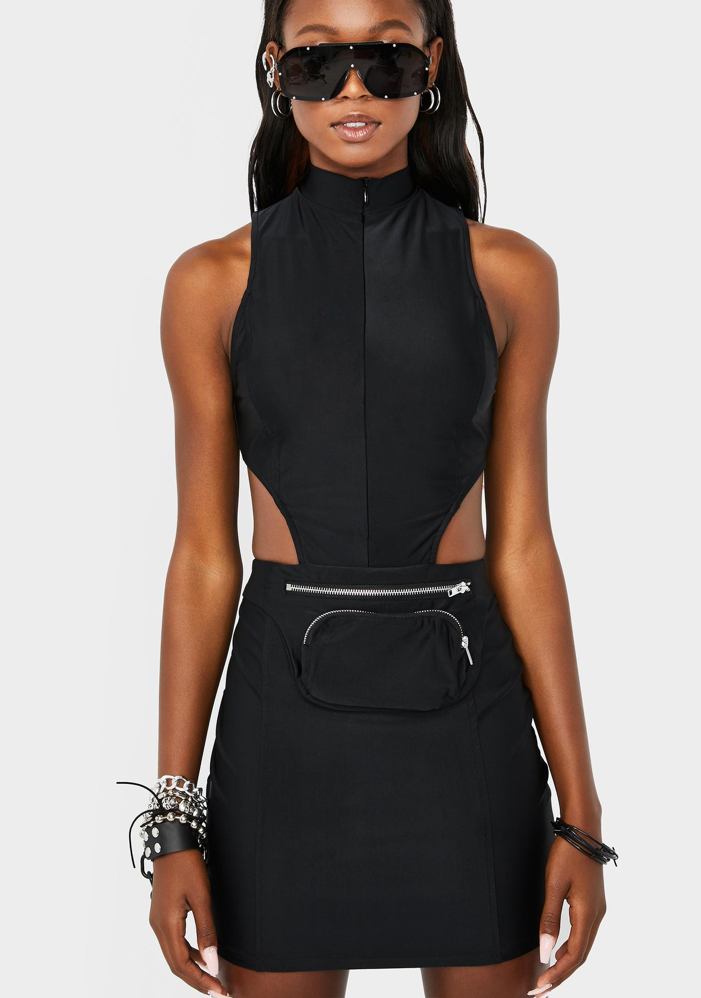 No Negotiation Fanny Pack Dress