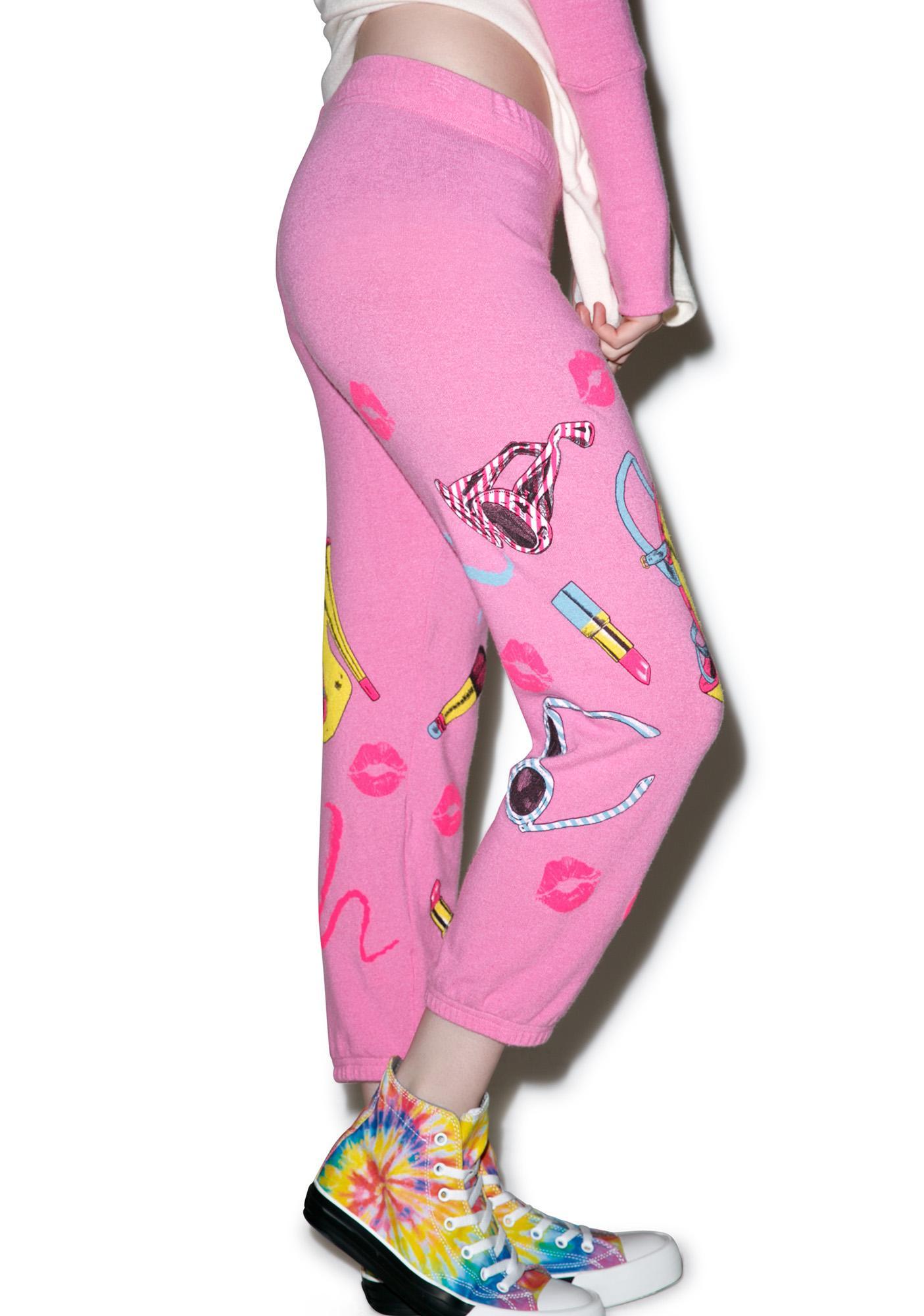 Lauren Moshi Alana Crop Sweatpants