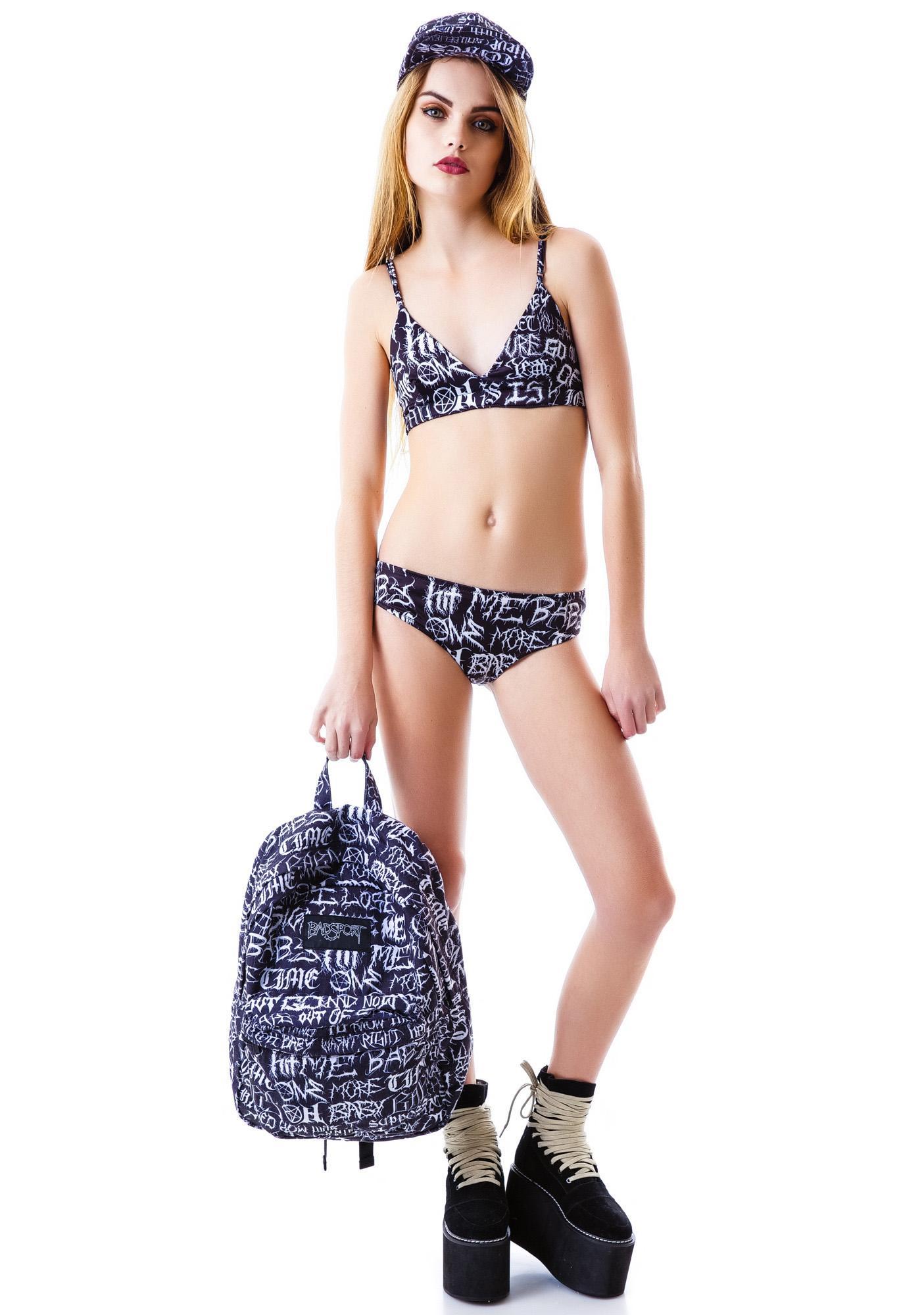 UNIF Brutal Zippy Bikini