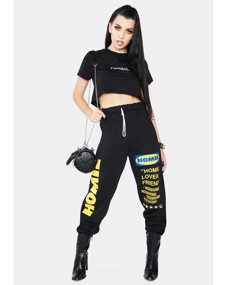 Onyx Homie Sweatpants