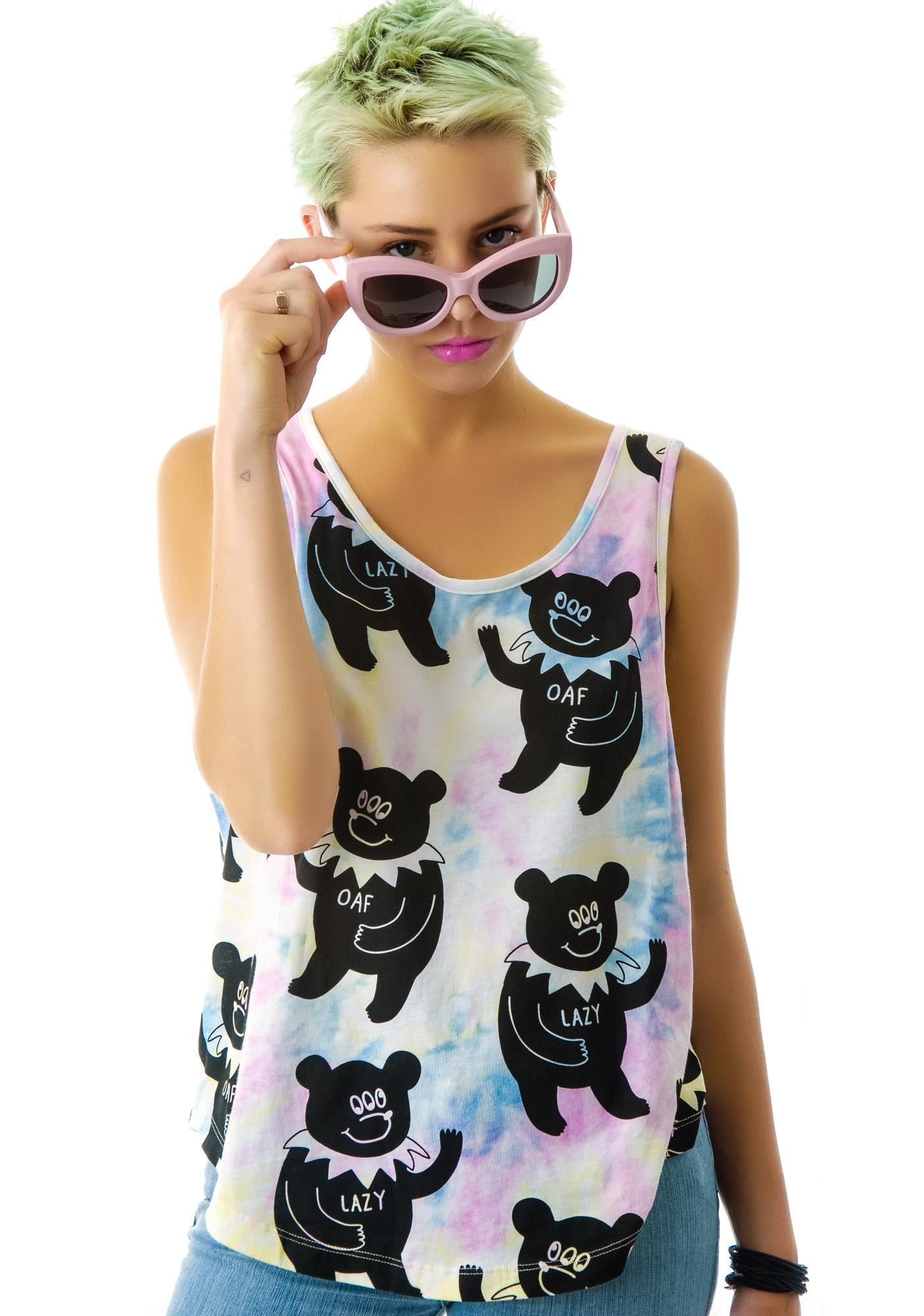 Lazy Oaf Greatful Bear Tank