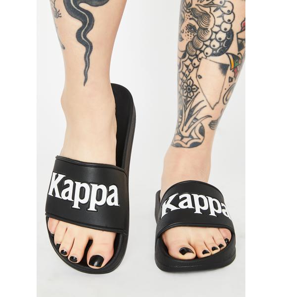 Kappa Black 222 Banda Adam 9 Slides