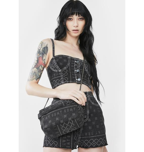 GRIMEY Carnitas Denim Crossbody Bag