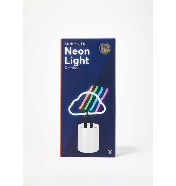Rainbow Love Neon Light