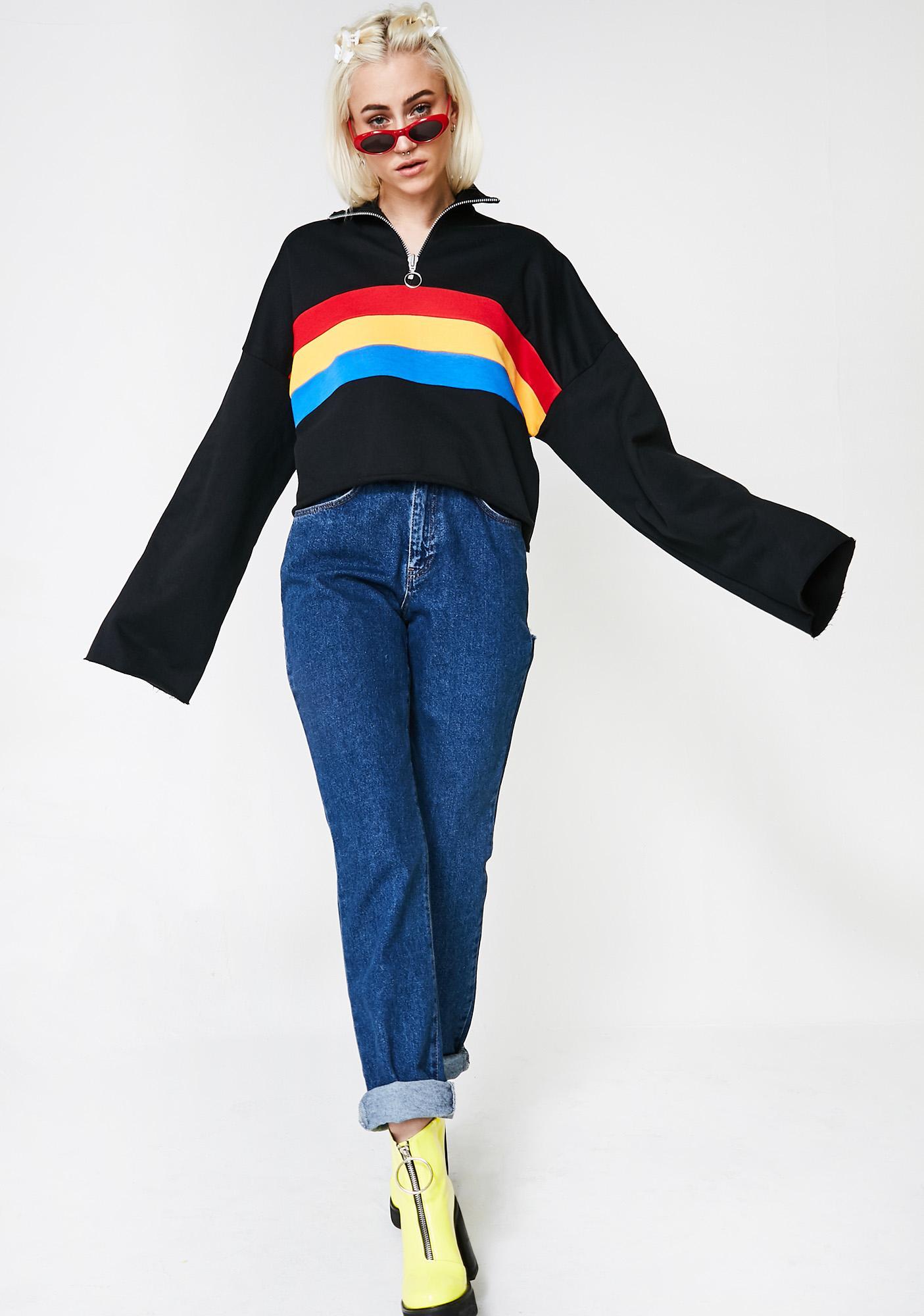 The Ragged Priest Faster Zipper Sweater