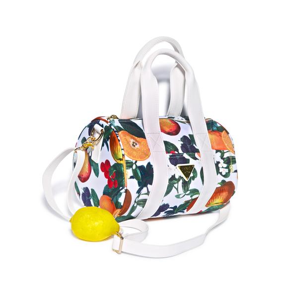 Joyrich Orange Blossom Shoulder Boston Bag