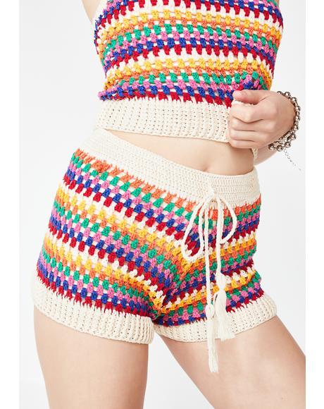 Hippie Sugar Crochet Shorts
