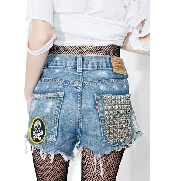 Hazmat Design Vintage Deadstock Hersher Cutoff Shorts