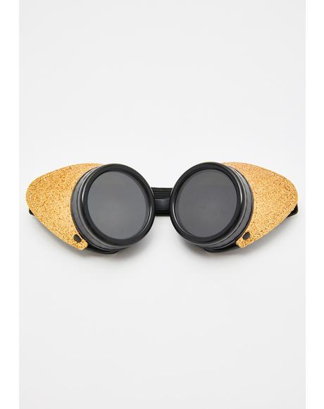 Honey Electro Glitter Goggles