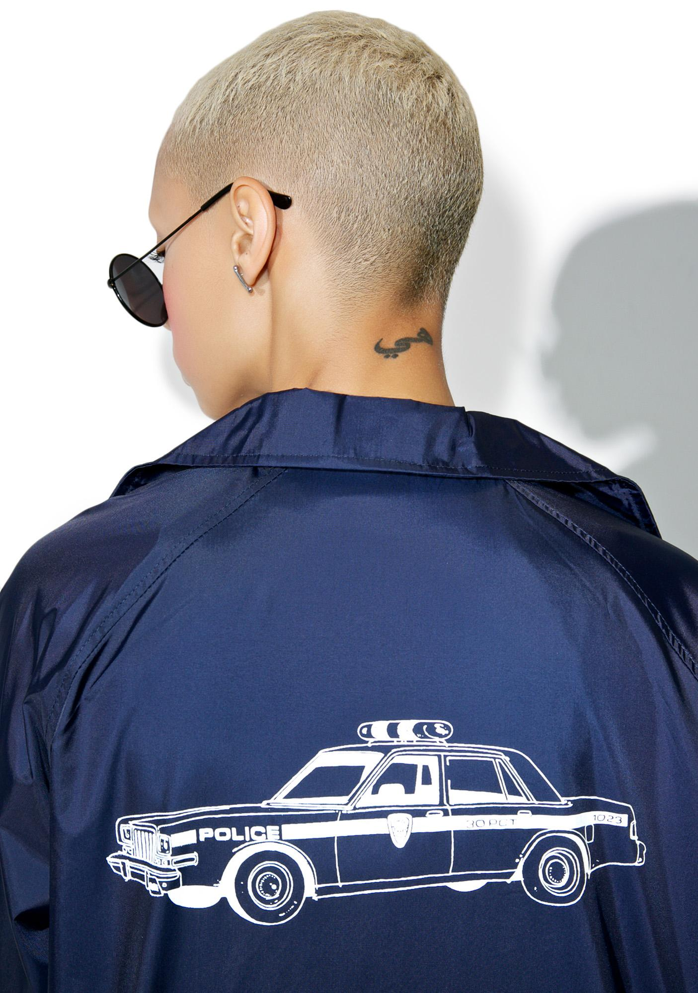 HUF X Chocolate Cop Car Coaches Jacket