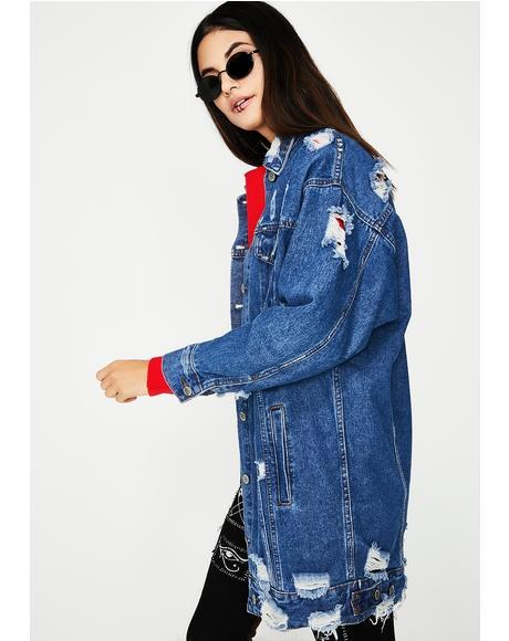Bad Advice Denim Jacket
