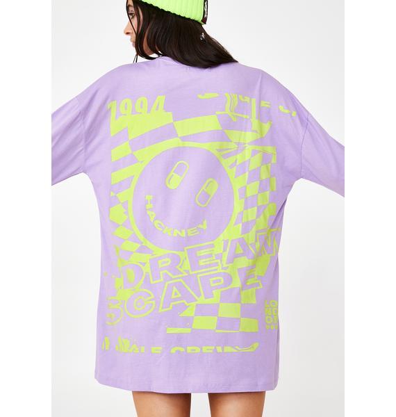 Motel Lotsun Tee Dress