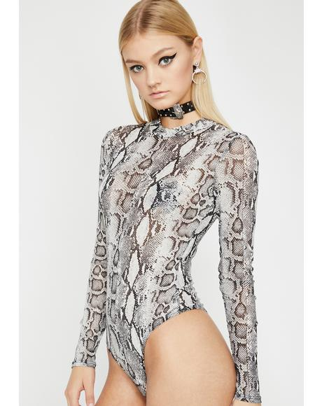 Toxic Touch Sheer Bodysuit