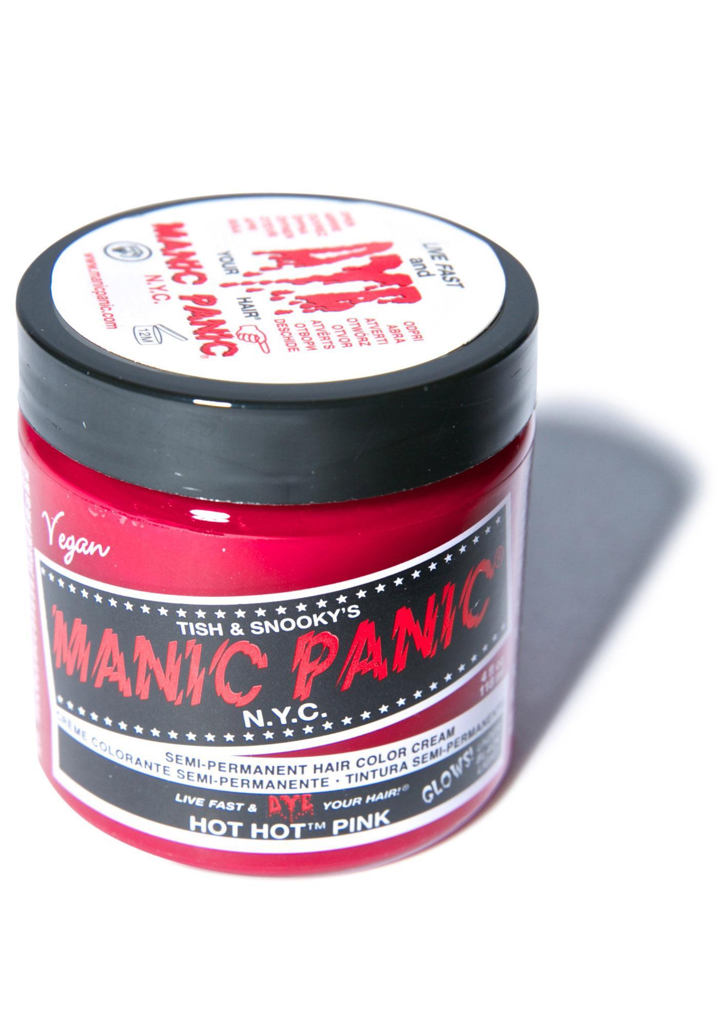 Manic Panic Hot Hot Pink Classic Hair Dye