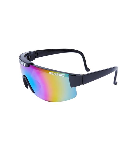 Burger And Friends Stratosphere Sunglasses