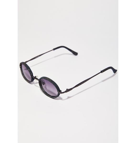 New Vibez Denim Sunglasses