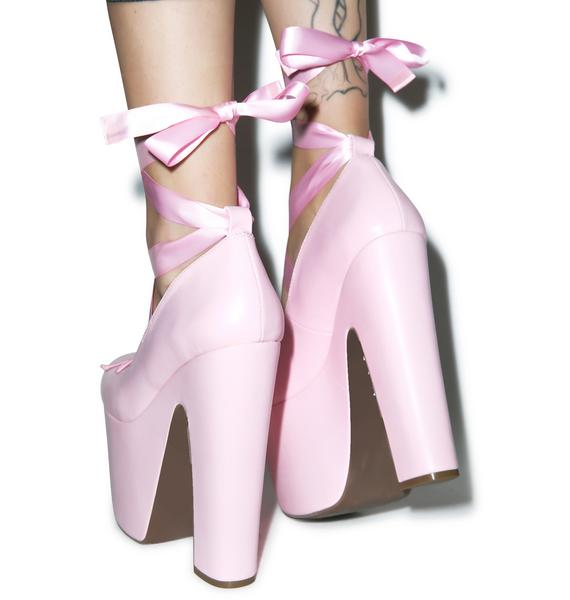Sugar Thrillz Love On Pointe Platforms