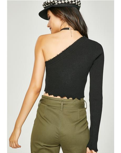Last Chance One Shoulder Top