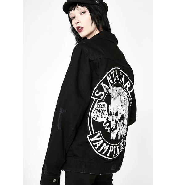 Disturbia Lost Boys Denim Jacket