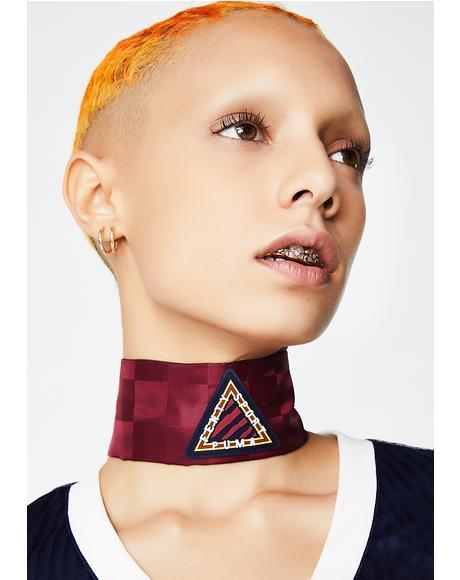 FENTY PUMA By Rihanna Silk Tie Choker