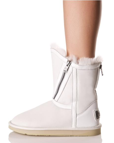 Narius Zippered Boots