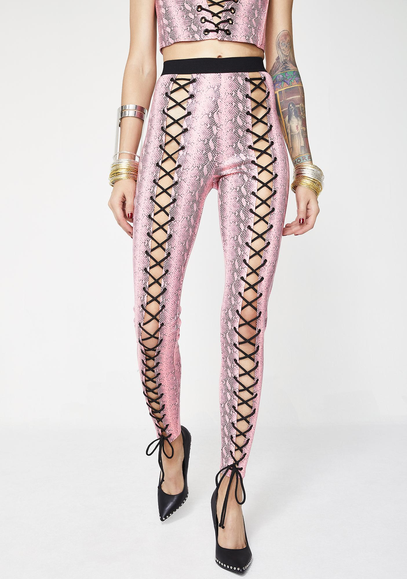 Current Mood Lethal Lover Nancy Corset Leggings